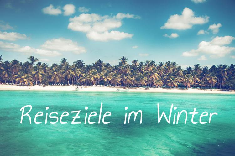 Meine Reiseziele im Winter.
