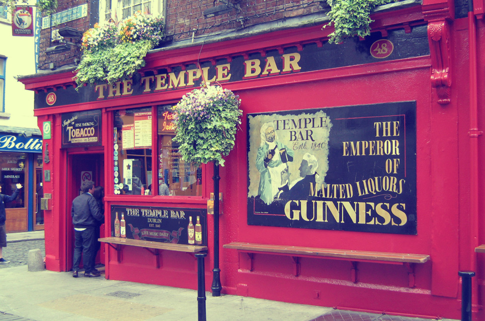 The Temple Bar Pub: Das berühmteste Pub in Dublin