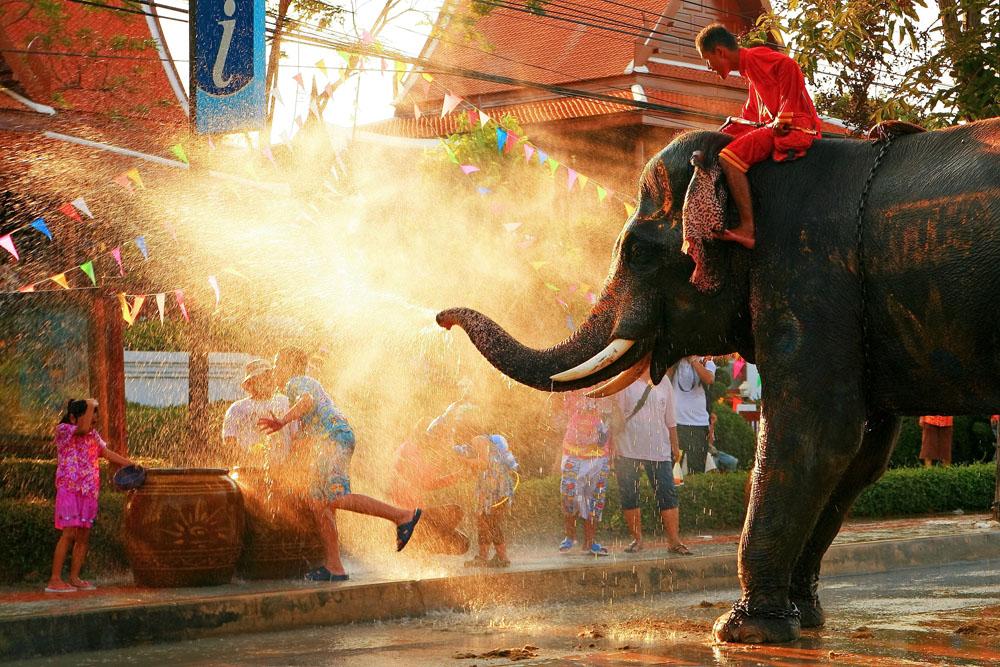 Songkran Festival: Neujahr in Thailand