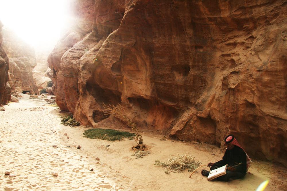 Petra: Ein Musiker