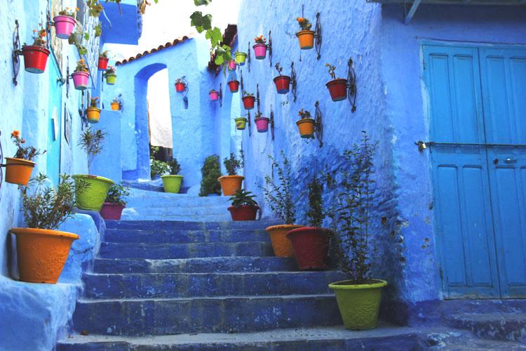 Chefchaouen: Die blaue Stadt im Rif Gebirge