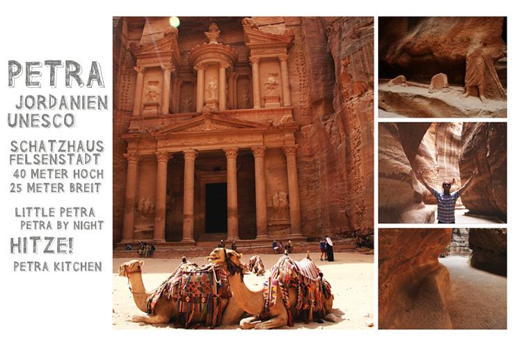 Die Felsenstadt Petra: Die Perle von Jordanien
