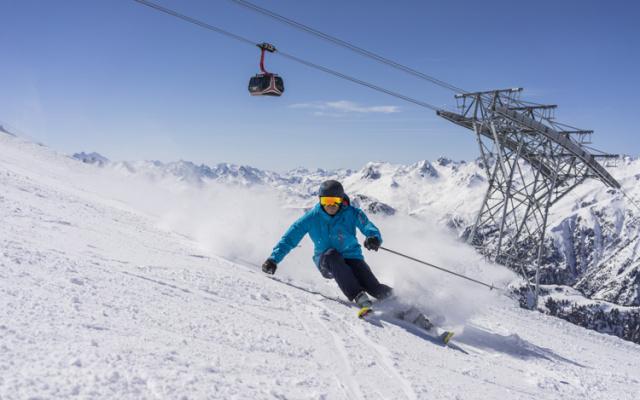 Skifahren in Tirol: Das Skigebiet Ischgl