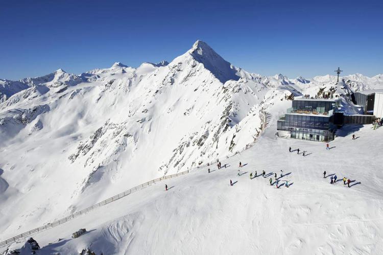 Das Skigebiet Sölden: Die Eventmetropole in den Alpen.