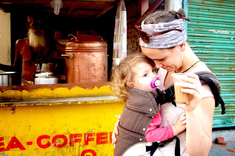Eine Indien Reise mit Kind? Ihr seid aber mutig.