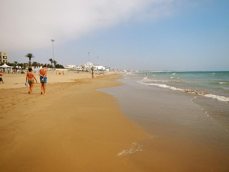 Strand von Agadir