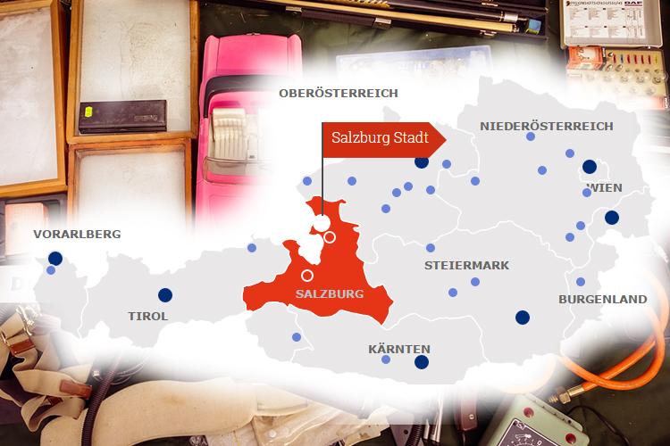Flohmärkte in Österreich