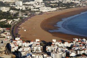 Blick auf Agadir