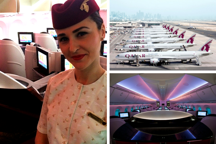 Fly Qatar: Business Class – YEAH!!!