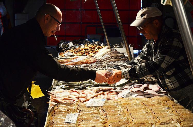 Caorle Sehenswürdigkeiten Fischmarkt