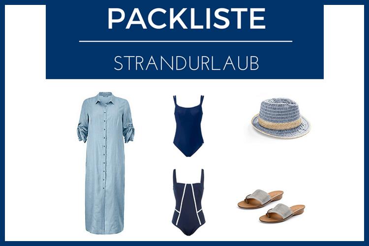 Packliste Strandurlaub: Das muss mit!