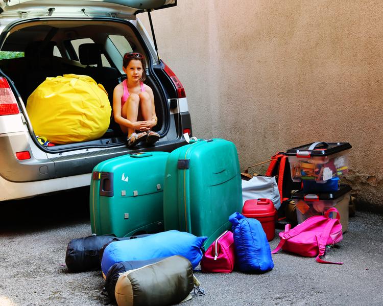 Autoreisen: Gepäck richtig verstauen