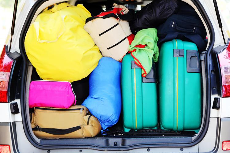 3 Tipps für deine Autoreise: Wie du dein Gepäck sicher verstaust.