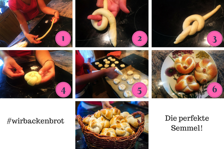 Backen mit Christina: Semmerl