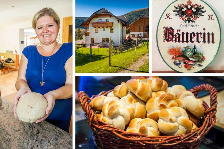Urlaub am Bauernhof + Brotbacken lernen mit Christina vom Bramlhof
