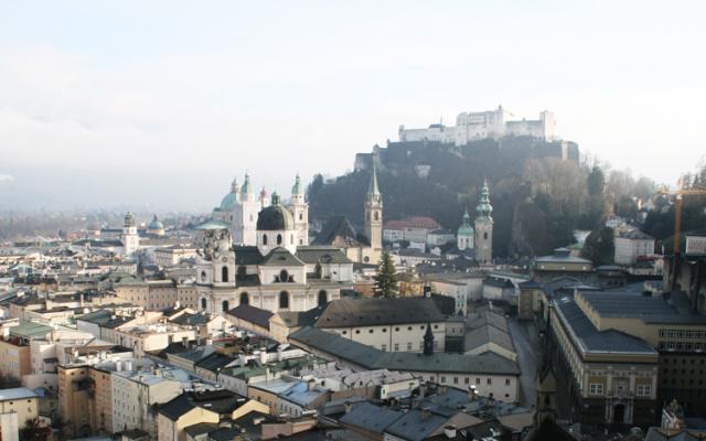 [7ways2travel]  Salzburg von oben betrachtet: Schöne Logenplätze in und um Salzburg.