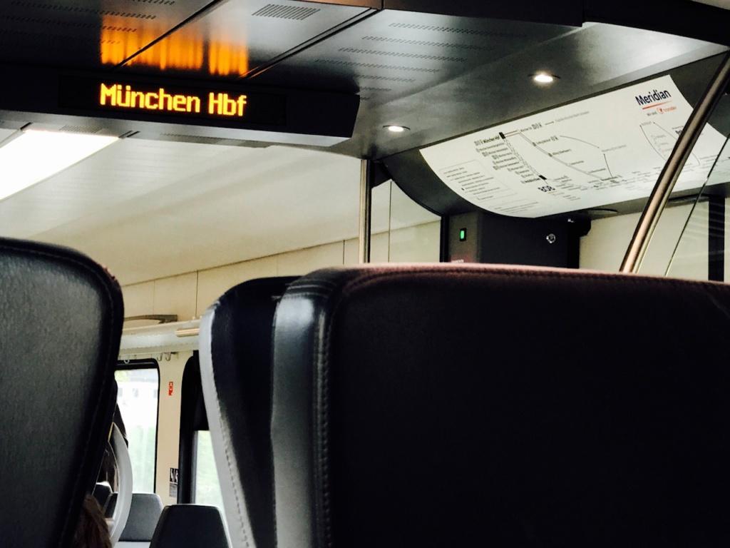 München Salzburg mit der Bahn