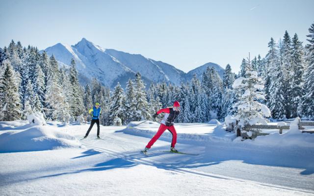 Tirol: Ein Paradies zum Langlaufen in Österreich